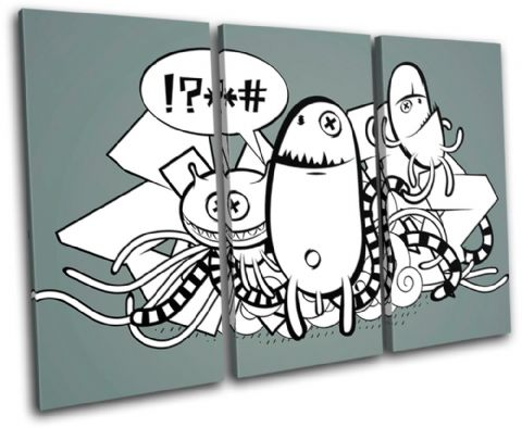 Doodles Graffitti  Illustration - 13-0074(00B)-TR32-LO